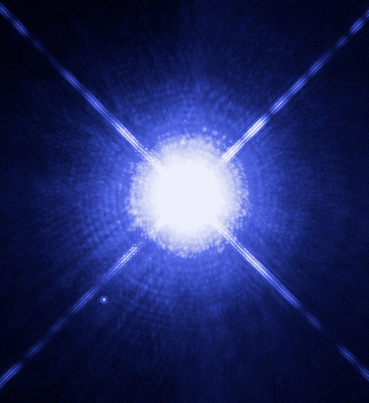 Sirius A and B Hubble photo1