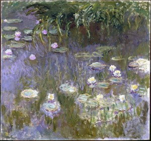 Claude Monet Waterlelies Wasserlilie Nymphea Water Lilies