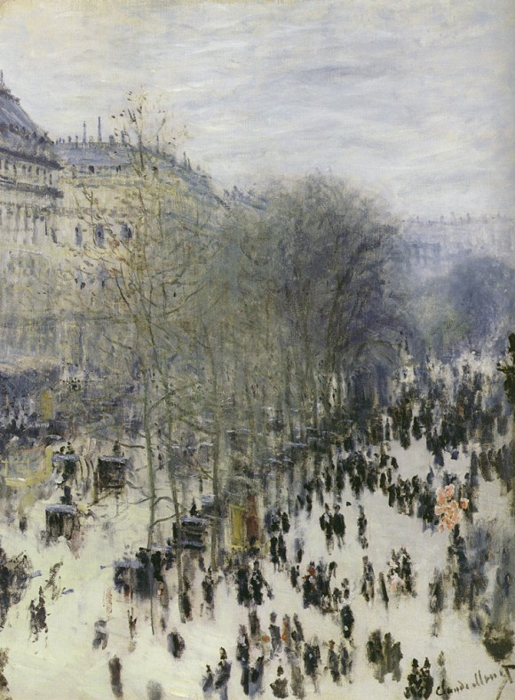 Claude Monet winter snow 580x788 Claude Monet: winter, sneeuw, ijs