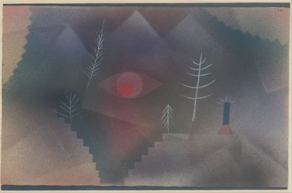 Paul Klee, Swiss   Glance of a Landscape   oog boom nevel 580x384 Entartete Kunst: Paul Klee