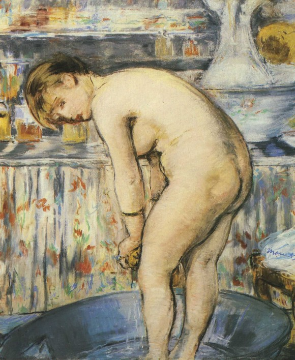 Edouard Manet   La Toilette 580x708 De intrigerende vrouwen van Edouard Manet