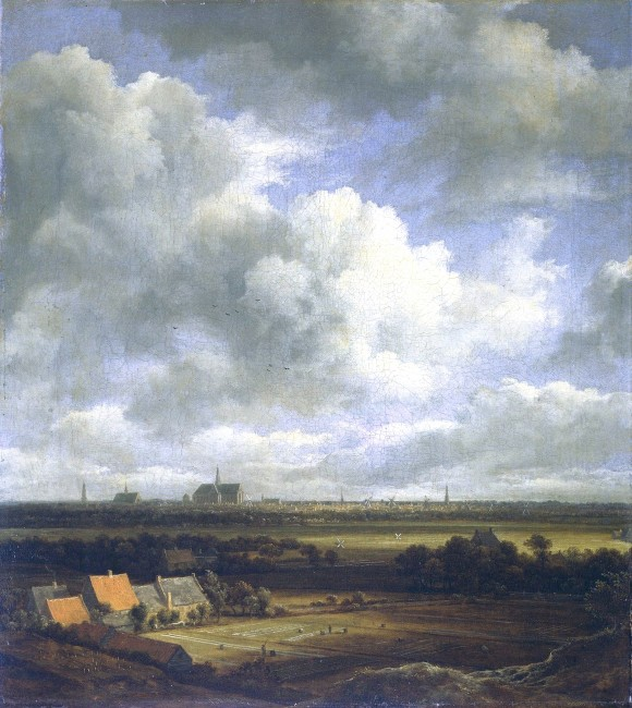 Jacob_Isaaksz._van_Ruisdael_Wolken in der kunst clouds in art