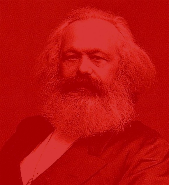 karl marx rood kabouter3 580x633 Shades of red: Karl Marx