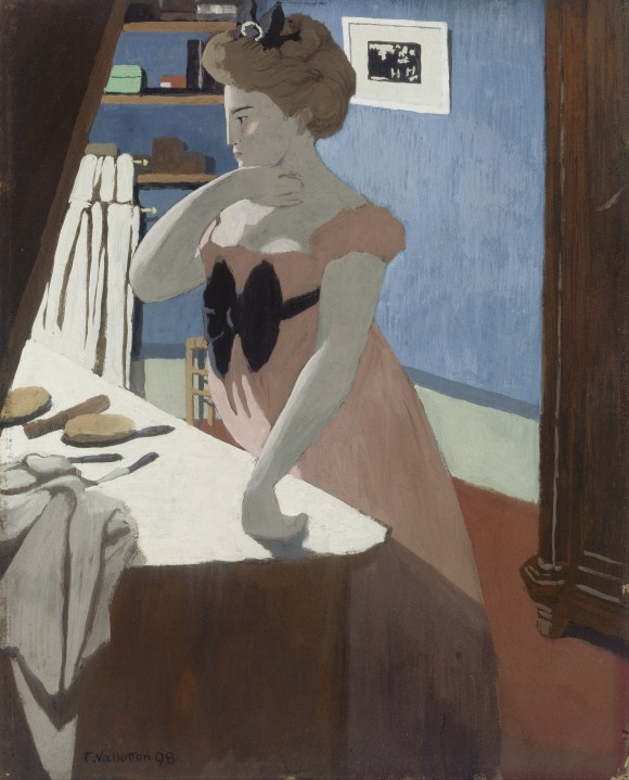 Felix_Vallotton_-_Misia_at_Her_Dressing_Table woman frau vrouw van gogh